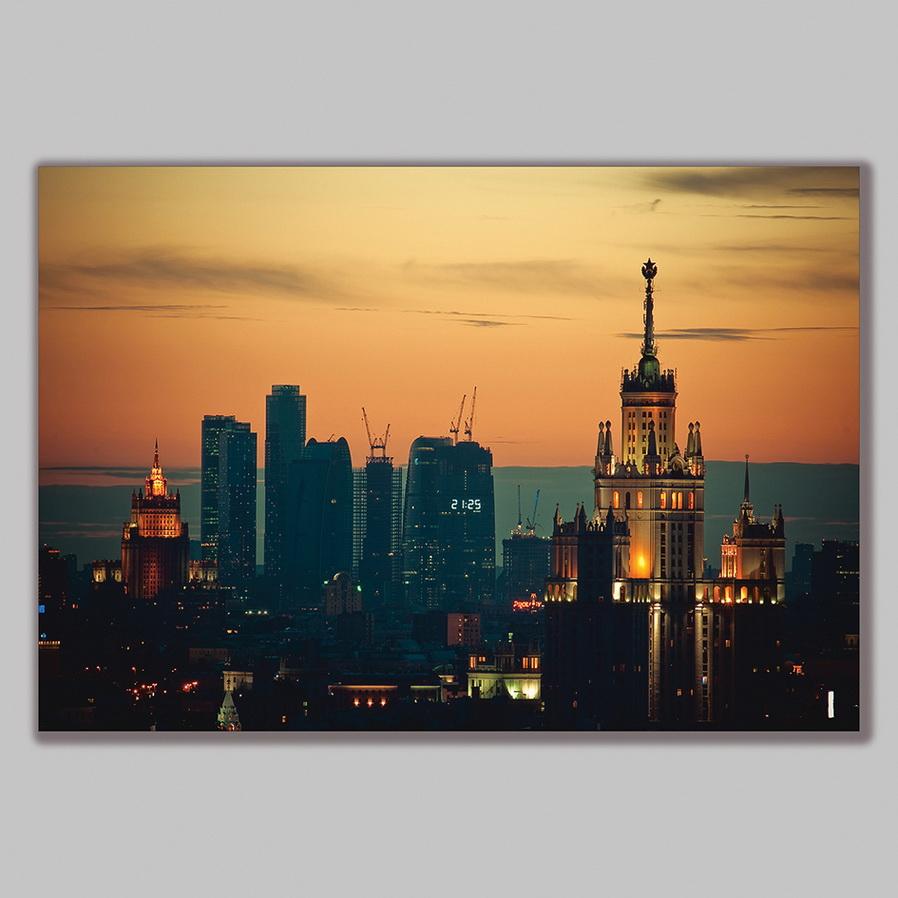 Tranh Trang Trí Phong Cảnh Thành Phố Q29CT0150 60 x 80 cm
