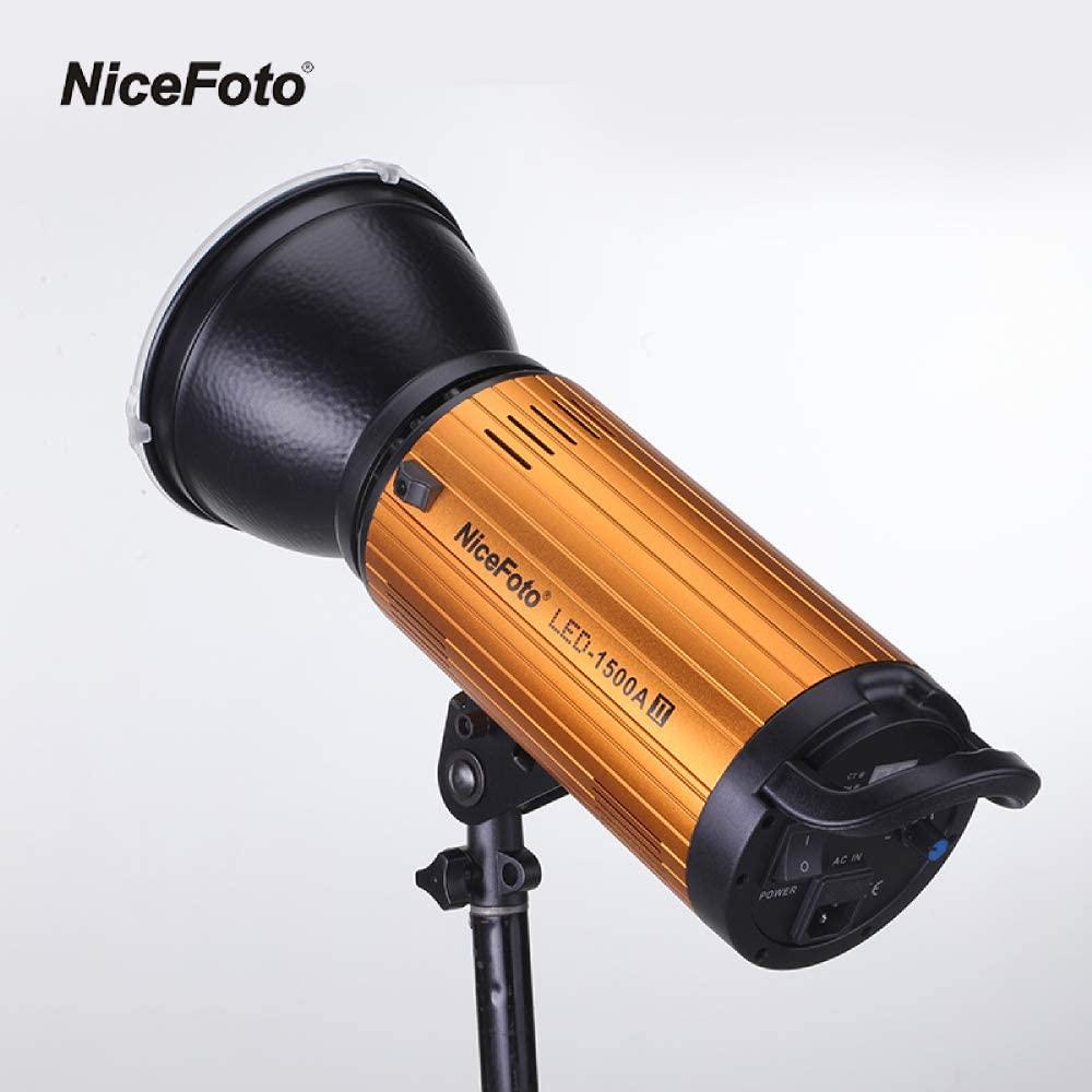 Đèn LED quay phim 2 mầu NiceFoto LED-1500A II - Hàng Chính Hãng
