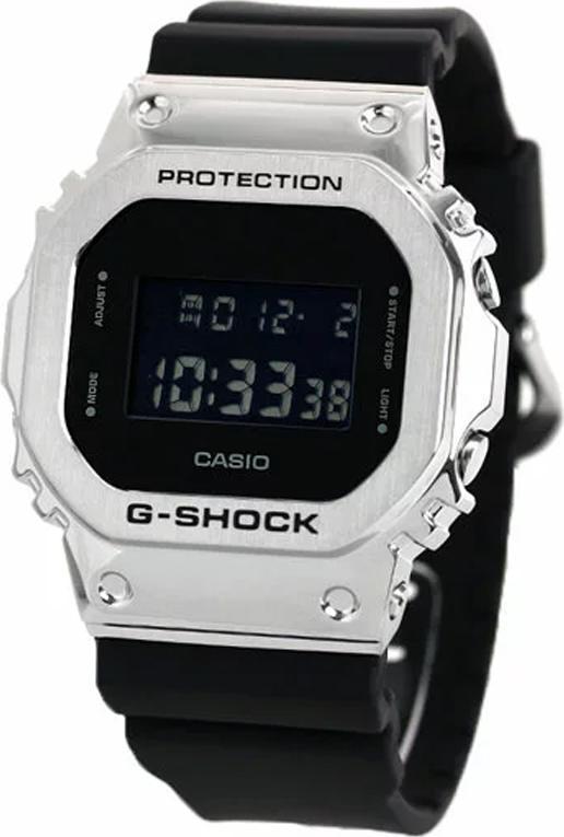 Đồng hồ nam dây nhựa Casio G-Shock chính hãng GM-5600-1DR