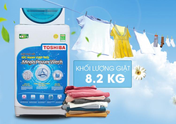 Máy giặt Toshiba AW-F920LV WB được thiết kế với vẻ ngoài độc đáo cùng màu sắc cũng khá là tươi mới