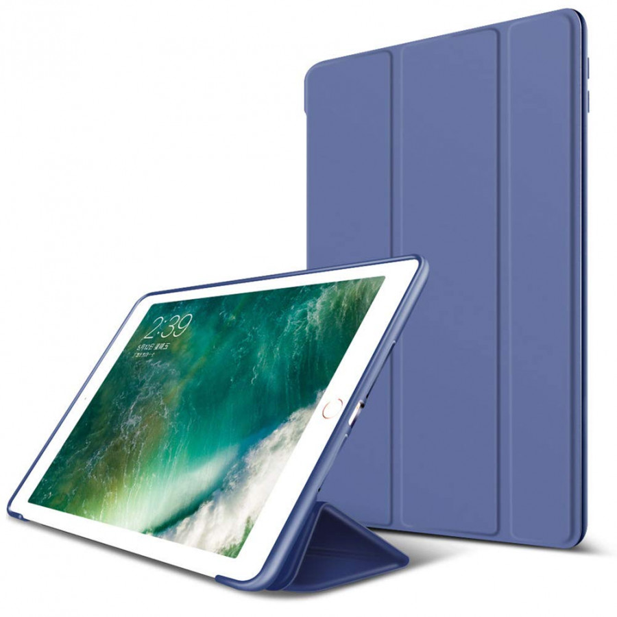 Bao da silicone dẻo cao cấp dành cho các dòng ipad 9.7 inch - XANH ĐEN - IPAD MINI 4