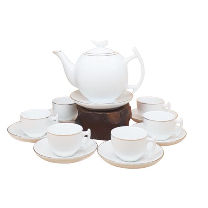 Minh Châu - Bộ bình trà sứ (HÀNG CHÍNH HÃNG)