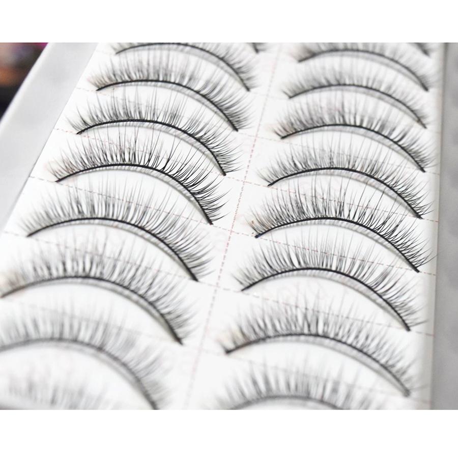 Lông mi giả Eyelashes Fashion Color 10 cặp (số 018)