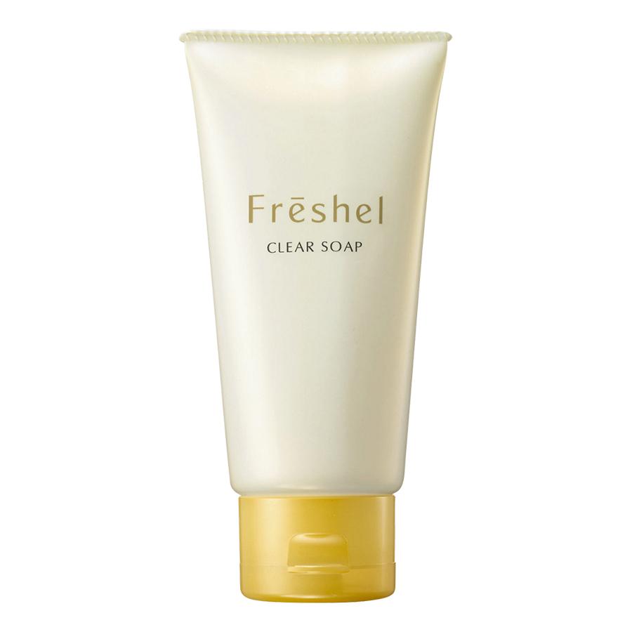Freshel Clear Soap N Sữa Rửa Mặt Sáng da, Dịu nhẹ (130g)
