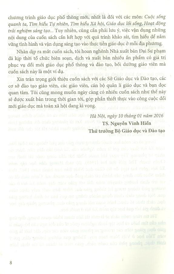 Hướng Dẫn Học Tập Môn Xã Hội - Tập 1 (Lớp 1 - Lớp 6)