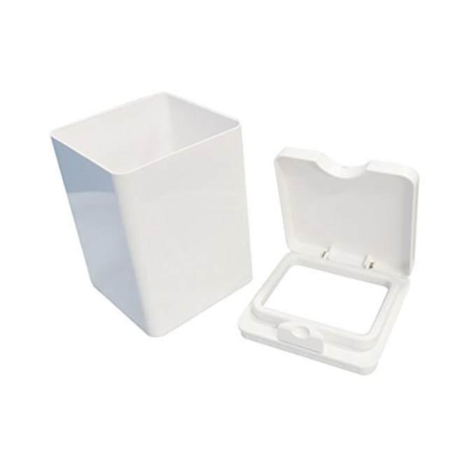 Combo thùng rác mini + dụng cụ lau kính nội địa Nhật Bản