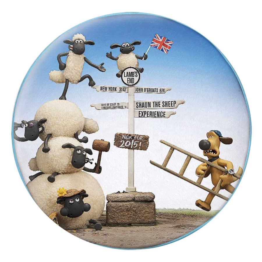 Gối Ôm Tròn Bầy Cừu Tinh Nghịch - GOFF015