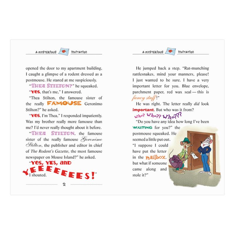 Thea Stilton Book 01: Thea Stilton And The Dragon'S Code