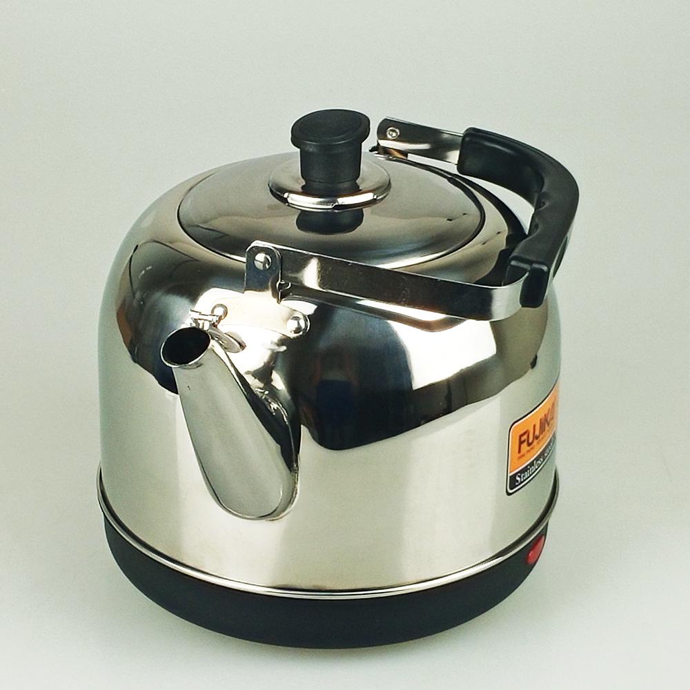 Ấm Siêu Tốc Inox 5L Fujika FJ-SD50 Công Suất 1500W Tiết Kiệm Điện Cho Quán,Nhà Hàng,Nhà Đông Người-Hàng Chính Hãng