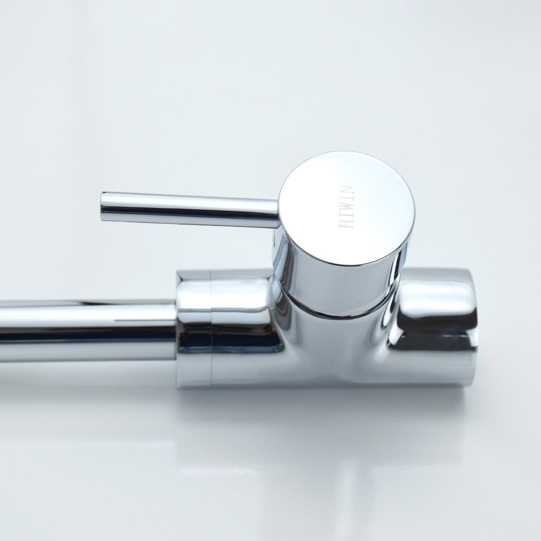 Vòi bếp nóng lạnh chất liệu đồng cao cấp Hiwin KF-201092