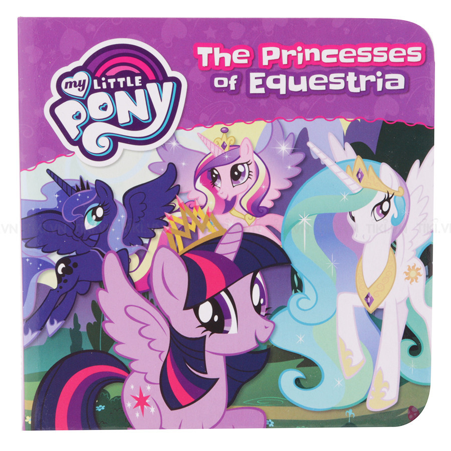 My Little Pony - 4 Books In A Box