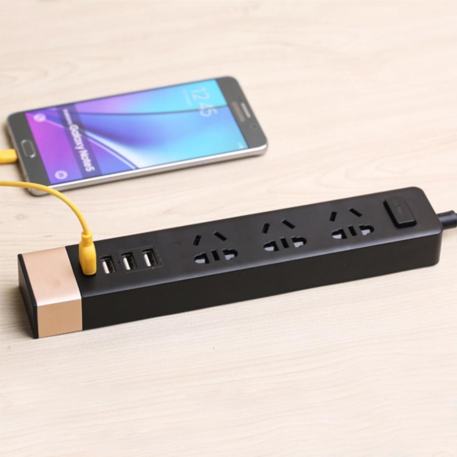 Ổ Cắm Điện Ru-S2 4 Cổng USB