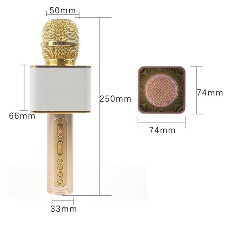 Mic Hát Karaoke Kèm Loa Bluetooth SD-08 phiên bản Premium
