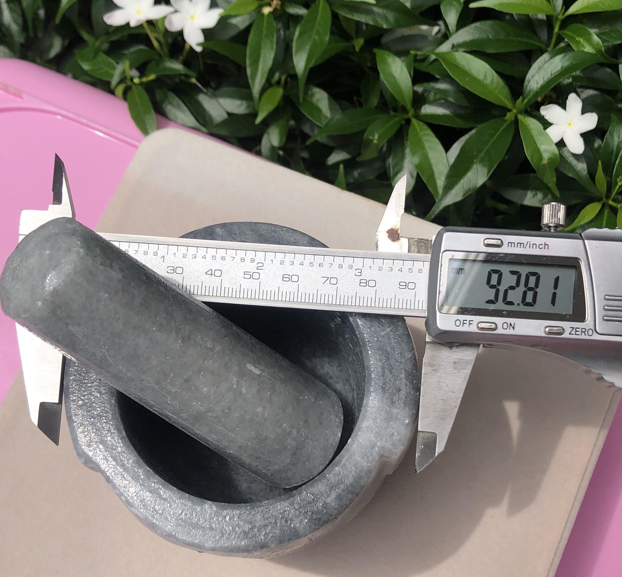Cối đá Non Nước đường kính 9,2 cm