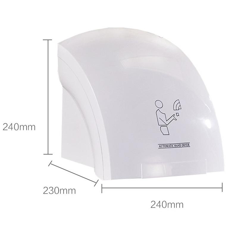 Máy sấy tay tự động thông minh Hand Dryer Automatic - Trắng AZONE