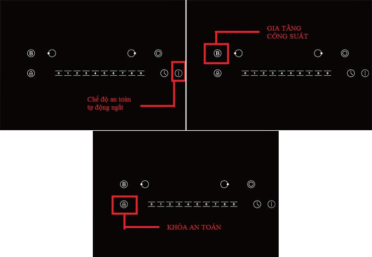 Bếp Âm Từ Đôi Rapido RI4000VN (74 cm) - Hàng Chính Hãng