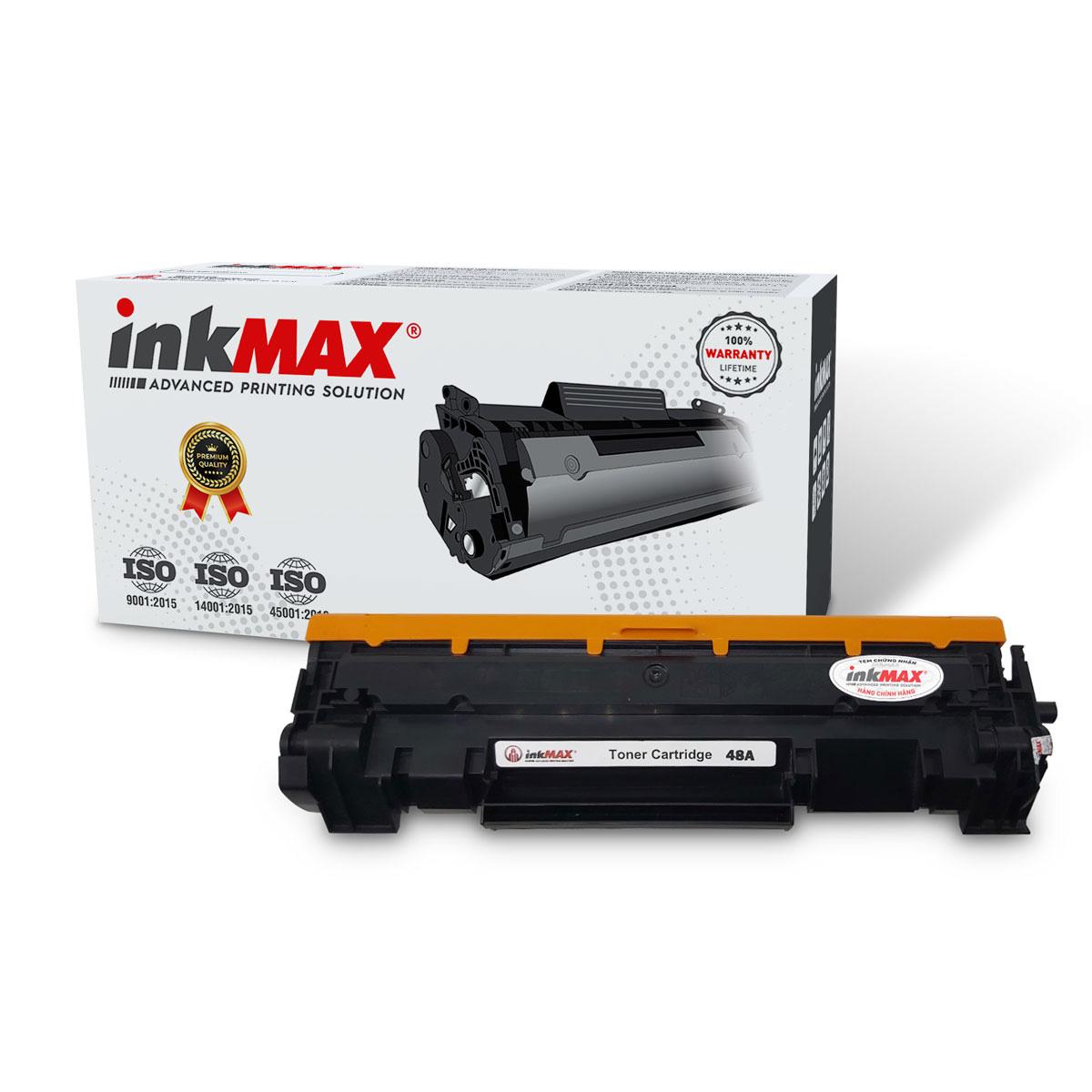 Mực in 48A InkMax MIIH-48A (dùng cho máy in HP LaserJet Pro M15a/ M28a/ M28w) - Hàng chính hãng InkMax