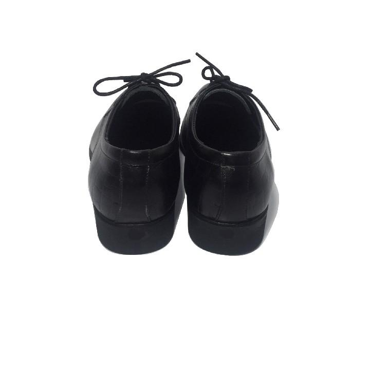 Giày tây nam da bò thật happyshoes - HS54