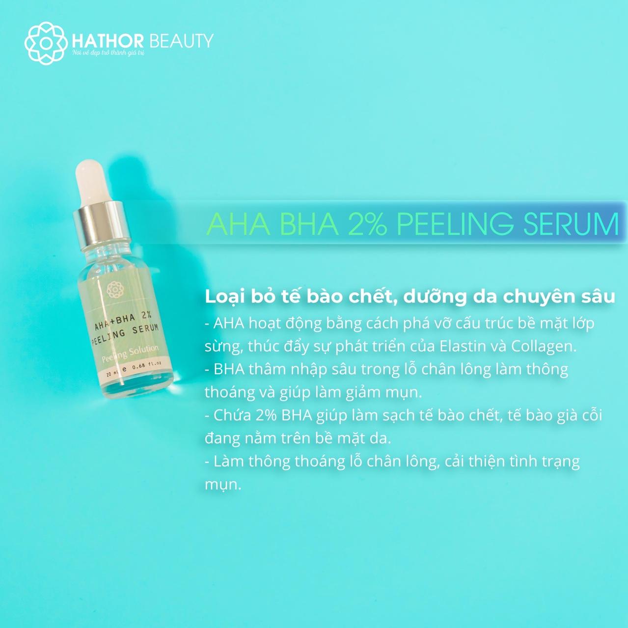 AHA BHA 2% Peeling Serum Hathor Beauty 20ml