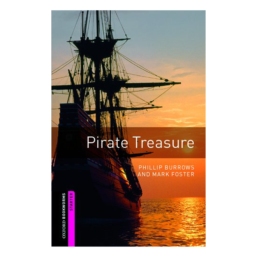 Oxford Bookworms Library (2 Ed.) Starter: Pirate Treasure - 9780194793643,62_230284,54000,tiki.vn,Oxford-Bookworms-Library-2-Ed.-Starter-Pirate-Treasure-62_230284,Oxford Bookworms Library (2 Ed.) Starter: Pirate Treasure