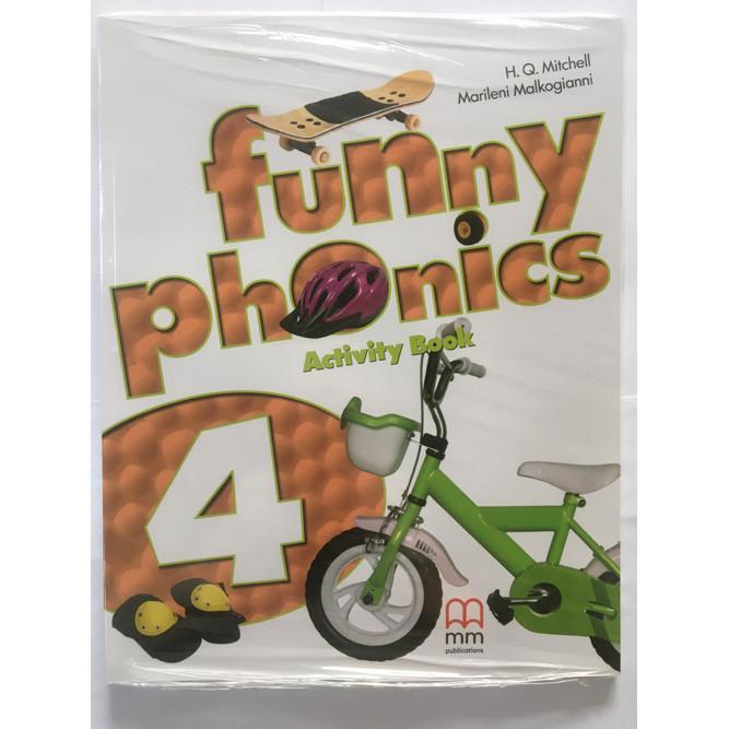 Funny Phonics 4 (Activity Book) + CD