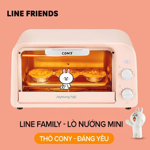 Lò Nướng Joyoung Line KX10-V161XL (10L) Cực Cute - Hàng Chính Hãng