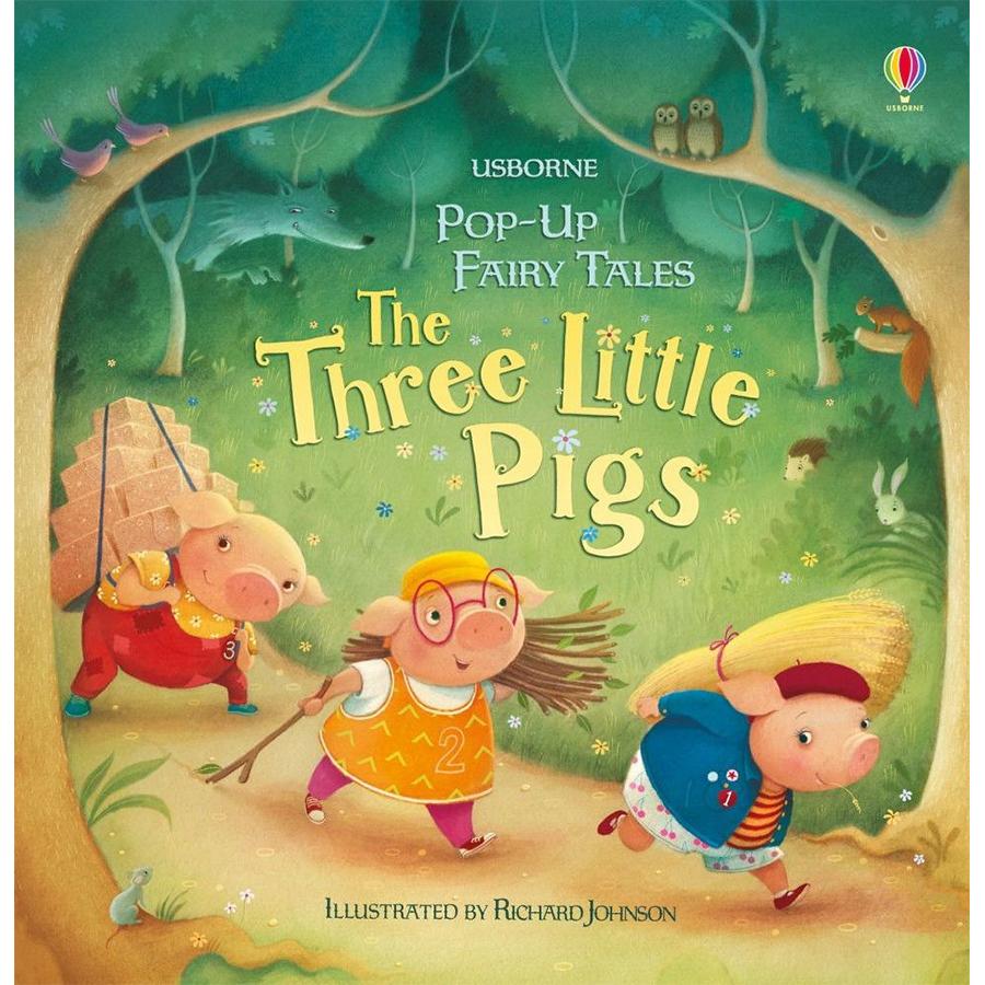 Sách Usborne Pop-up: Three Little Pigs