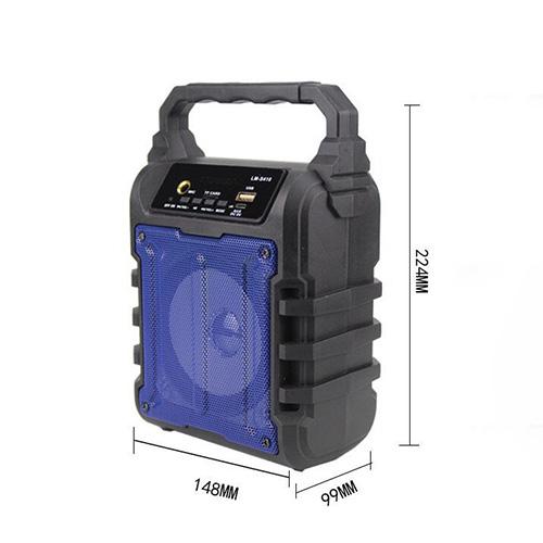 Loa Bluetooth xách tay Di động KARAOKE Kèm MICRO KM-S410 (giao màu ngẫu nhiên)