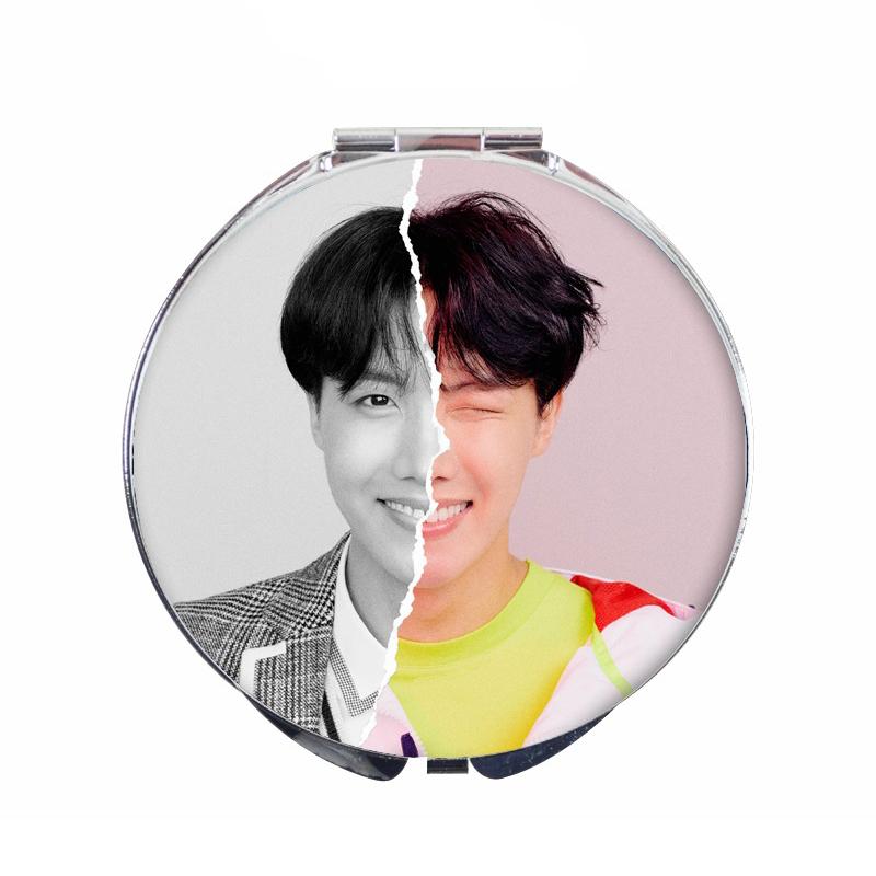 Gương J-HOPE BTS mini gương trang điểm hai mặt