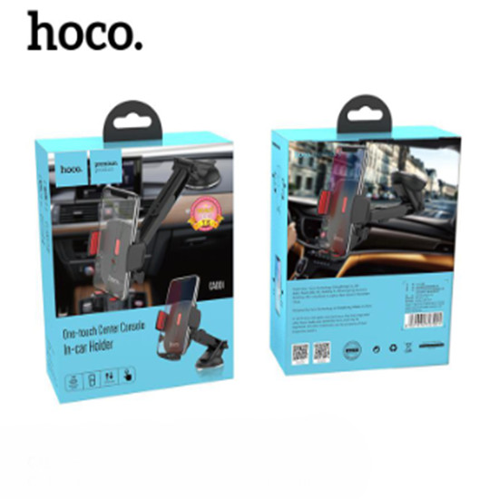Giá Đỡ Điện Thoại Thông Minh Hoco CAD01 + Tặng Kèm 1 Ghế Đỡ Điện Thoại Đa Năng T2 - Hàng Chính Hãng