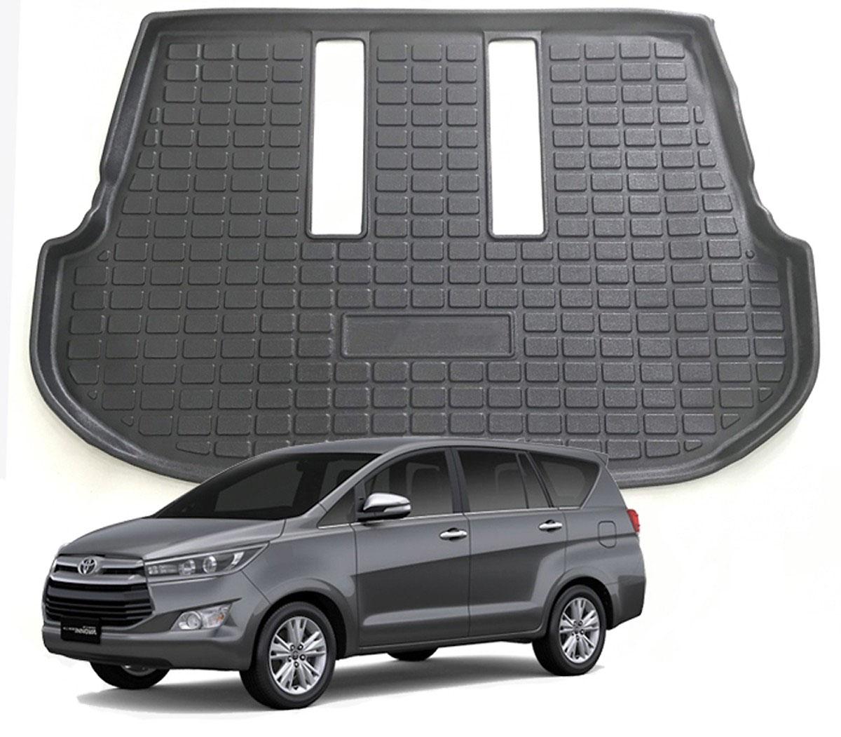 Lót cốp nhựa dẻo TPO dành cho xe Toyota Fortuner 2009-2019