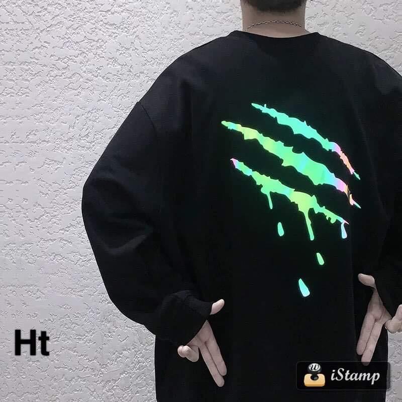 Áo thun móng vuốt phản quang HTH1120