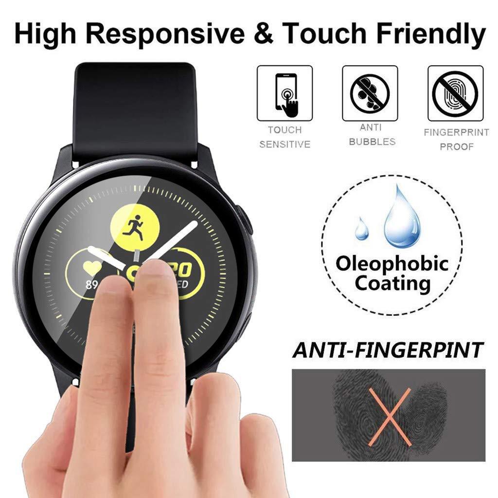 Miếng Dán Dẻo 3D cho Galaxy Watch Actice 2 40mm / 44mm (Bộ 2 Miếng)