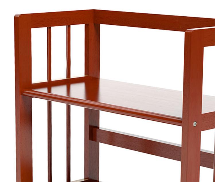 Kệ Sách 4 Tầng Gỗ Cao Su HB463 (63 x 30 x 120 cm) - Cánh Gián