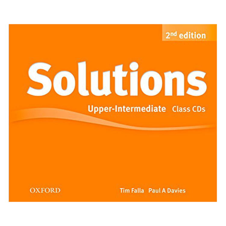 Solutions (2E) Upper-Intermediate Class Audio CDs (3 Discs)