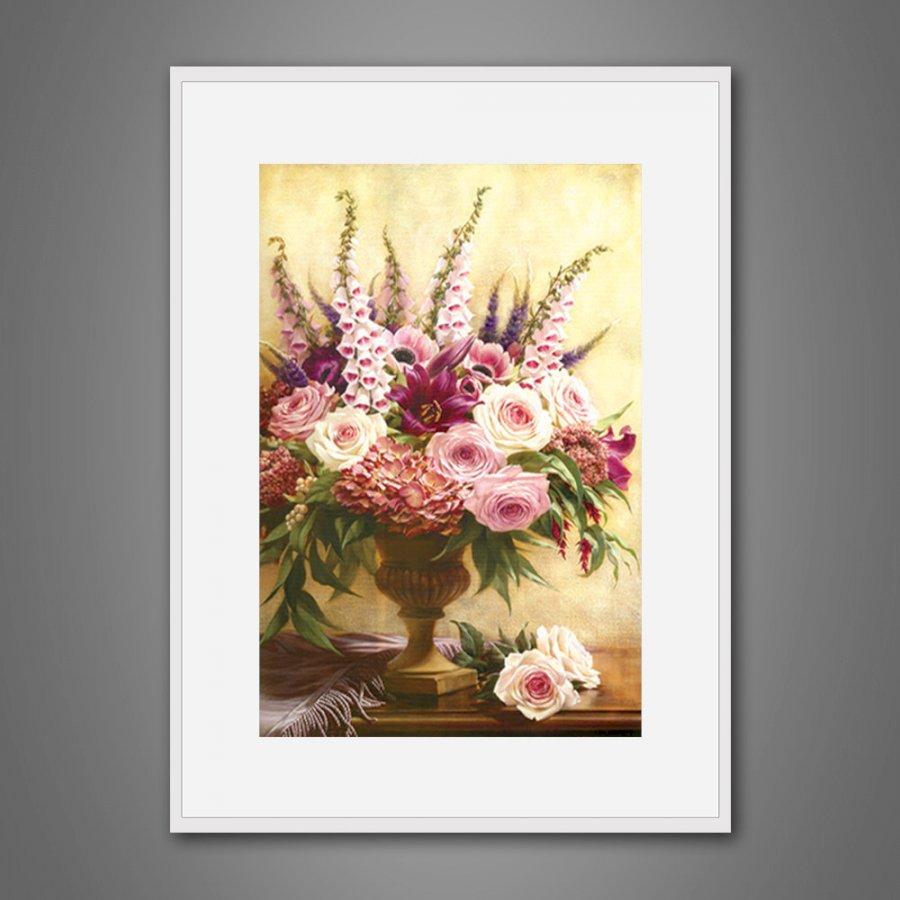 Tranh treo tường trang trí sơn dầu canvas 32