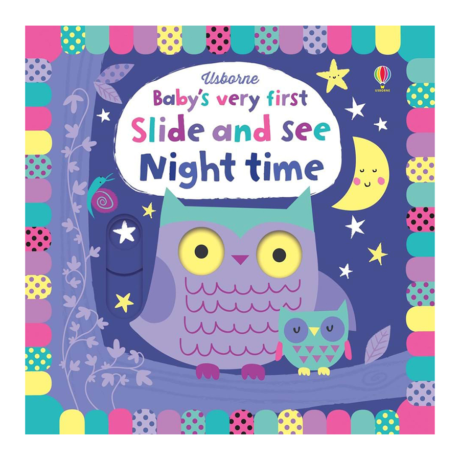Usborne Baby's Very First Slide And See: Night Time