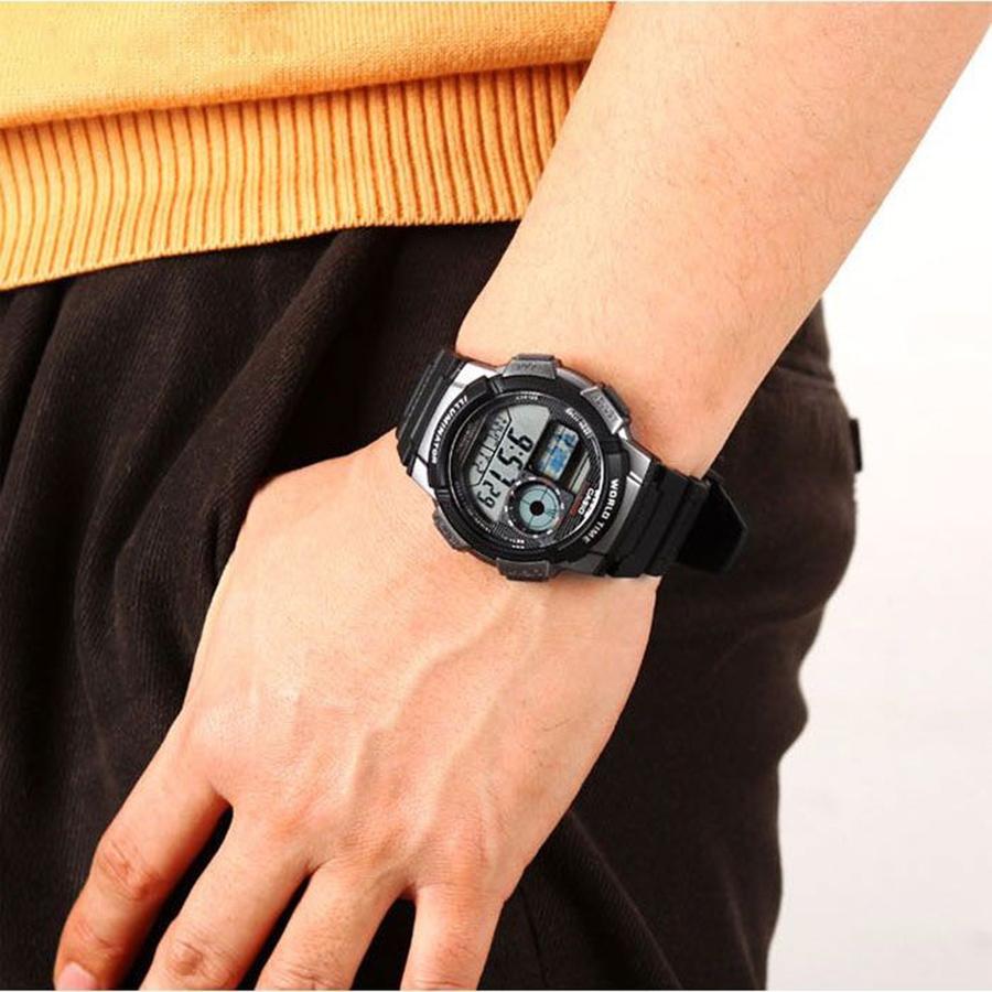 Đồng hồ nam dây nhựa Casio AE-1000W-1BVDF