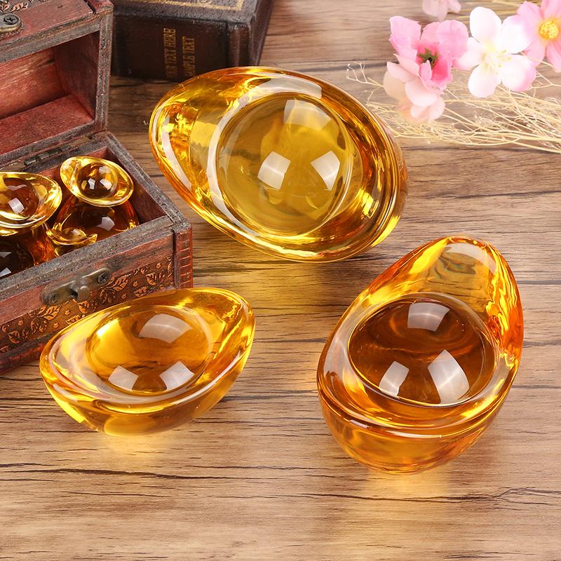 Kim Nguyên Bảo - Thỏi vàng phong thủy Thần Tài may mắn size 6cm