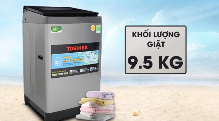 Máy giặt Toshiba 9.5 Kg AW-UH1050GV DS