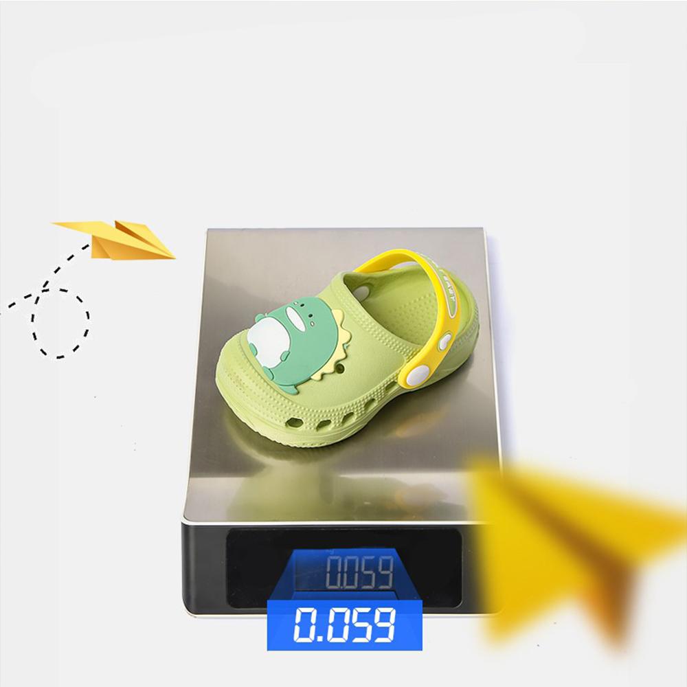 Dép Sục Cho Bé Trai Bé Gái Cheerful Mario CC - 9966 Siêu Mềm Siêu Nhẹ Chống Trơn Trượt  - 5 Màu Đính Sticker Ngộ Nghĩnh, Có Quai Đeo Linh Hoạt