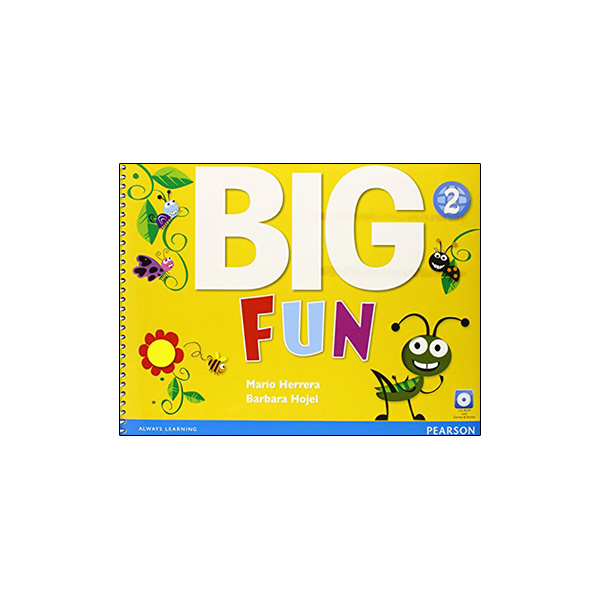 Big Fun 2 Student Book with CD-ROM