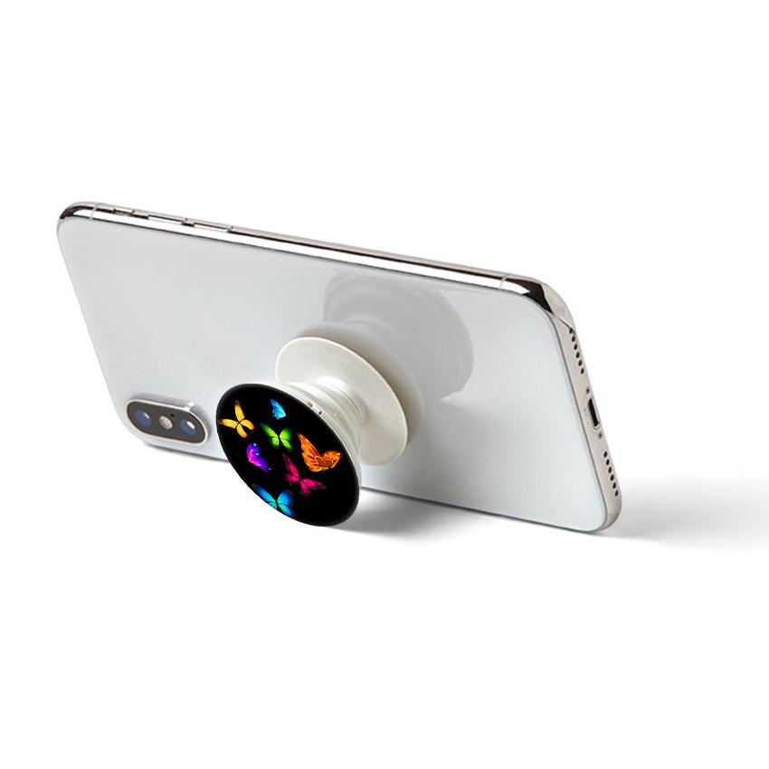 Gía đỡ điện thoại đa năng, tiện lợi - Popsockets - In hình BUTTERFLY 05 - Hàng Chính Hãng