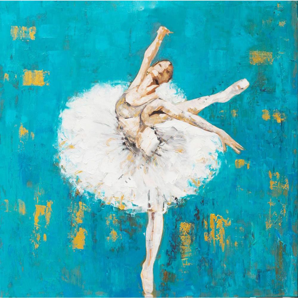 Tranh vẽ ấn tượng vũ công bale