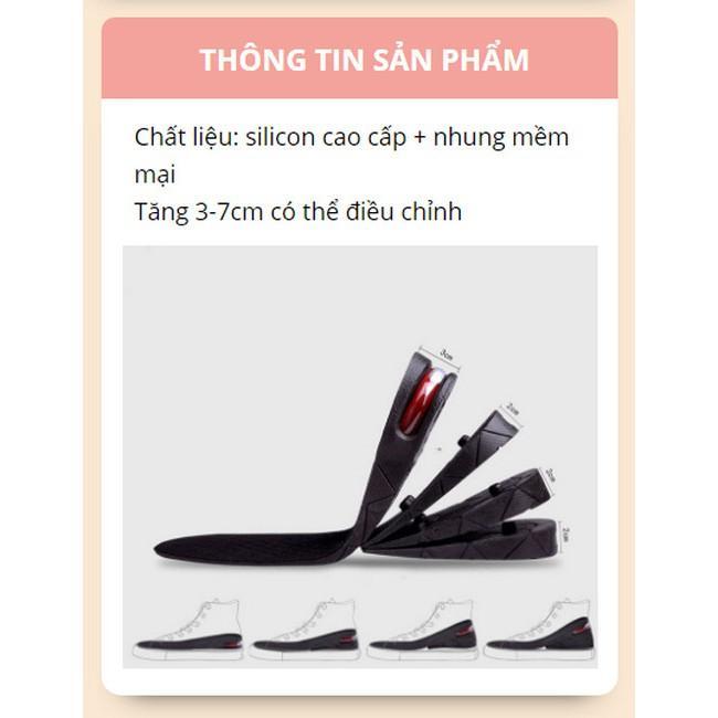 Lót Giày Tăng Chiều Cao Đệm Khí Kit Air Free Cutting - Home and Garden