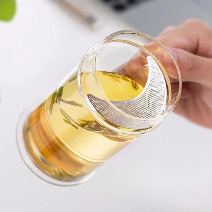 Ly lọc trà thủy tinh Samadoyo LC003B (380ml) - Xanh