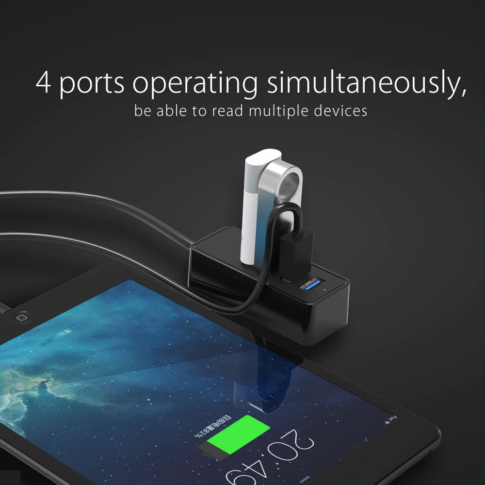 Hub Chia 4 Cổng USB 3.0 W5PU3 Cao Cấp AZONE