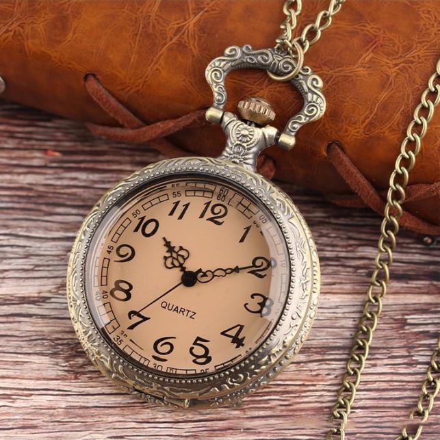 Đồng hồ bỏ túi Quartz giả cổ