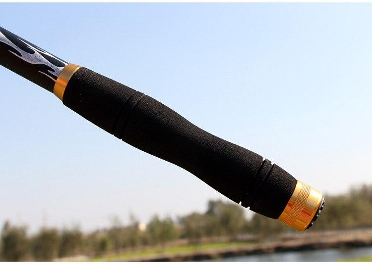 Cần câu cá cabon - Kèm máy kim loại AC 5000 - Tặng kèm 9 phụ kiện - AC04