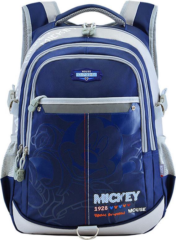 Disney primary school students schoolbags boys shoulders children bag 3 - 6 grade backpack 9-12 years old large capacity leisure bag DB96095 navy